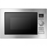 ElectrIQ 25L Frameless Built-in Digital Combi Microwave - Stainless Steel EIQMOCBI25