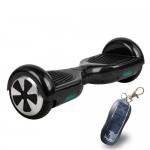 ElectrIQ G-Board Smart Two Wheel Self Balancing Scooter - Black - With Remote Lock & Training Mode - GBOARD-RBK
