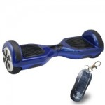 ElectrIQ G-Board Smart Two Wheel Self Balancing Scooter - Blue - With Remote Lock & Training Mode - GBOARD-RBL