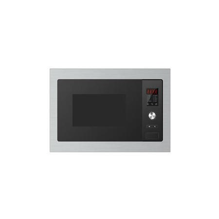 electriQ Stainless Steel 25L Built-in 900W Microwave Oven With Grill