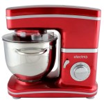 electriQ Red Stand Mixer With Dishwasher Safe Attachments - EIQSMWFMR