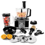 electriQ 10-in-1 1100W Multifunctional Food Processor
