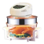 ElectriQ 17 Litre Digital Premium Halogen Oven and Full Accessories pack - HOV17DN