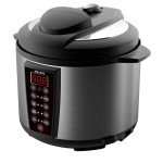 electriQ 6 litre 7-in-1 Electric Multifunction Pressure Cooker - As seen on Eastenders! - EIQPCBSWC