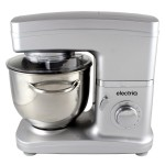electriQ Silver Stand Mixer With Dishwasher Safe Attachments – EIQSMWFMS