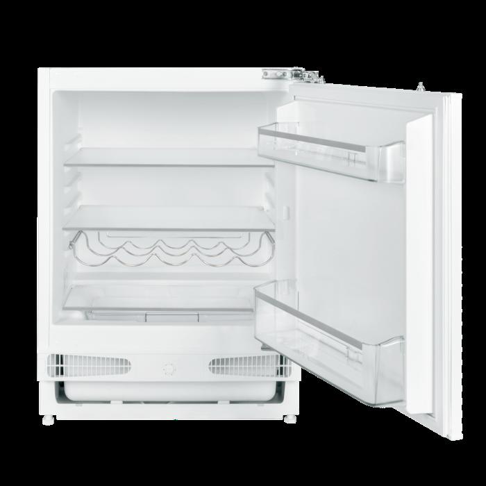 electriQ 60cm Wide Integrated Under Counter Larder Fridge - White EQBUINTFRIDGE